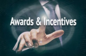 Awards & Incentives, Induction Training headlines concept.