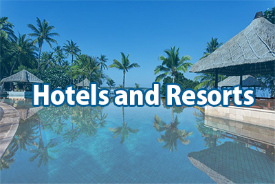 Hotels and Resorts in Bali
