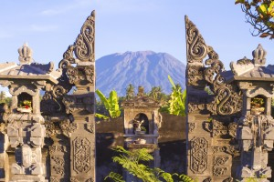 Picture of Mountain Agung.Bali Island. Indonesia.