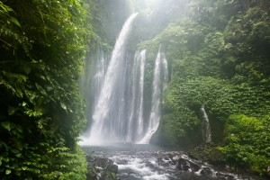 Air Terjun Tiu Kelep waterfall, Senaru, Lombok, Indonesia, South