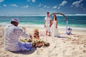 Traditional wedding in Bali