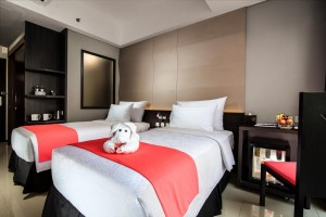 bali fashion hotel room
